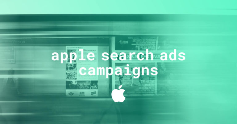 apple search ad campaigns