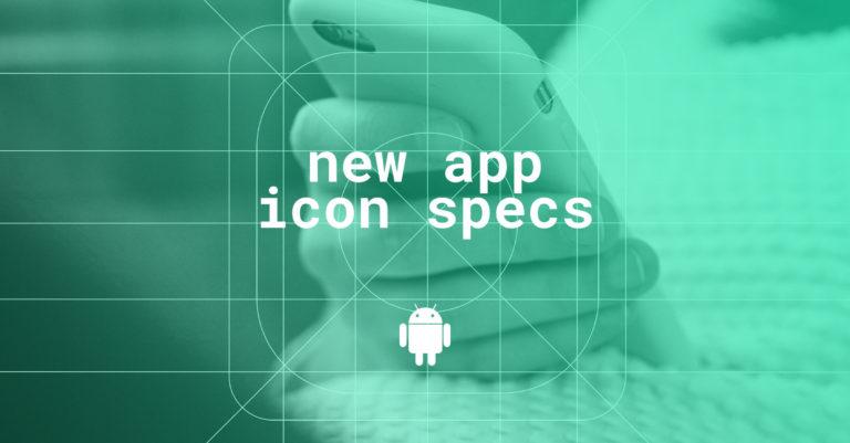 New app icon specs