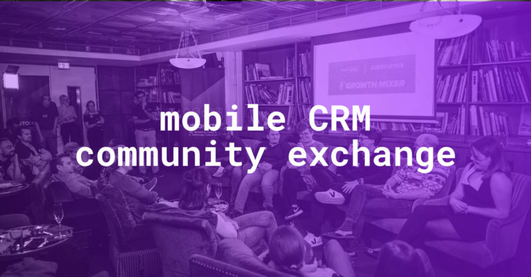 Mobile CRM Community Exchange